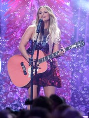 Miranda Lambert performs at the 53rd Annual CMA Awards.