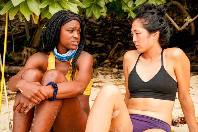 "Players on this season's ""Survivor"": Missy Byrd, left, and Kellee Kim"