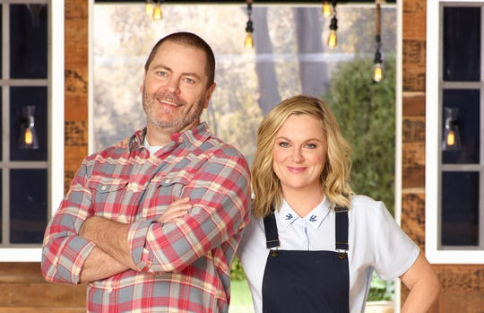 "Nick Offerman and Amy Poehler are back for a second season of ""Making It"" on NBC."