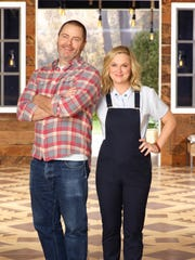 """Nick Offerman and Amy Poehler are back for a second season of """"Making It"""" on NBC."""
