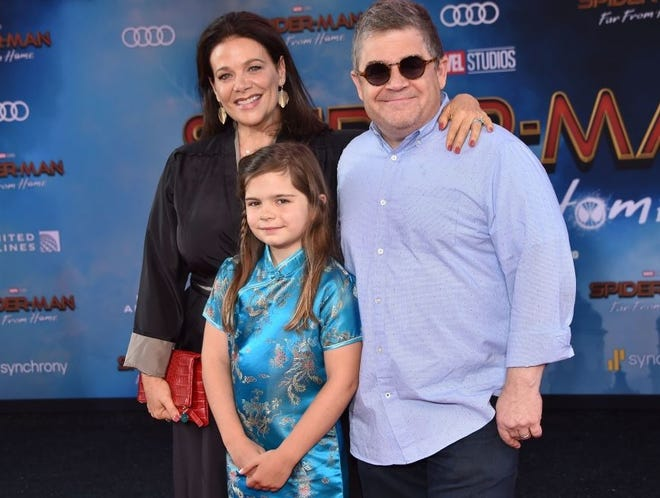 Actor Patton Oswalt says his 10-year-old daughter sometimes pushes back on chores, like most kids her age.