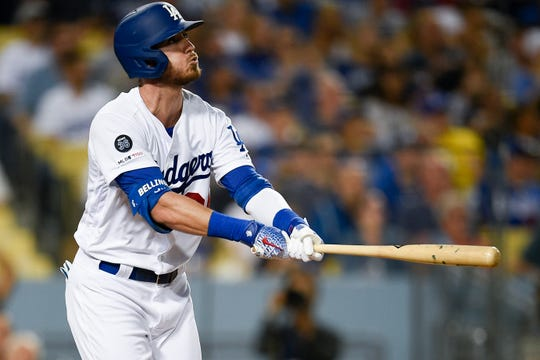 Cody Bellinger slugged 47 home runs and led the NL with 351 total bases.