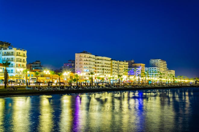 Larnaca is a lively port where you can explore ancient churches by day and waterfront bars and a palm tree-lined promenade by night.
