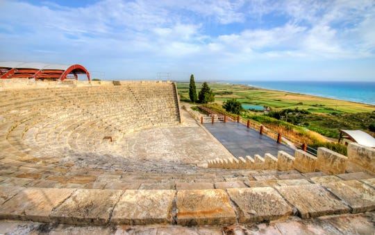 Archaeology fans will want to head to Kourion on the southwest side of the island. It's home to an amphitheater and the Sanctuary of Apollo Hylates, the Greek god of light, music and poetry.