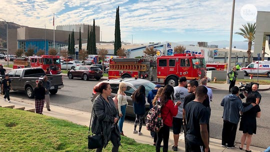A day of 'horror' at Santa Clarita high school: 2 dead after student shoots 5, then himself
