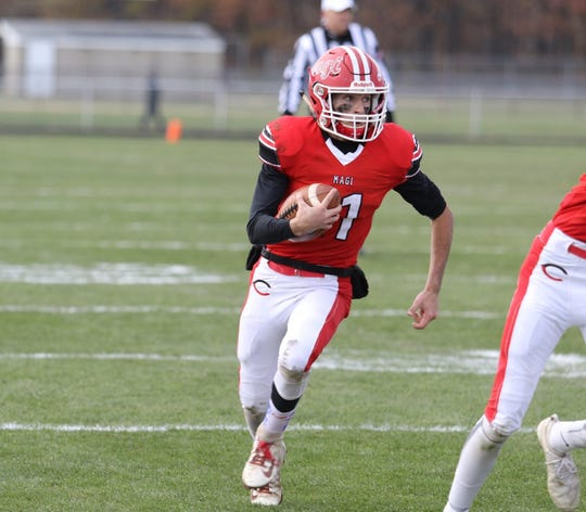 Colon quarterback Phillip Alva is the Enquirer Athlete of the Week.