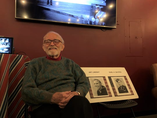 World War II Veteran Art Lindsay discussed his service in the U.S. Navy at Lookout Brewing Co. on Nov. 10, during a panel organized by local veterans.
