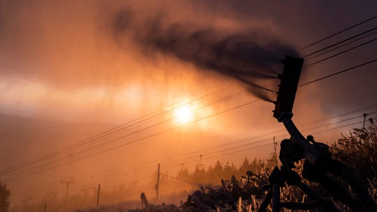 Record low temps have allowed snowmaking operations at Mount Snow in Dover, Vt., to open on Wednesday, Nov. 13 and they now have top-to-bottom terrain coverage.