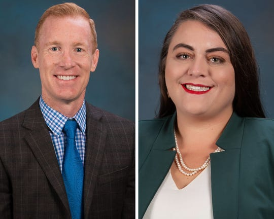 Barton Bailey and Emily Shafer Northrup were recently hired by the city of Corpus Christi for its newly formed Homelessness and Workforce Housing division.