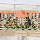 The proposed hotel would be called The Frazier and be a 6-floor, about 200-room Marriott facing the beach at Breaker Avenue and Surfside Boulevard. About 180 multifamily apartments will be attached to the hotel as well.