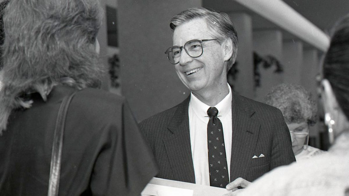 Mister Rogers In Corpus Christi In 1988