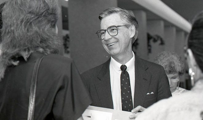 Mister Rogers In Corpus Christi In 1988