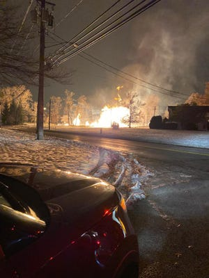 A gas line explosion in Pepper Pike, Ohio has closed roads and shut off power for about 500 residents, according to police.