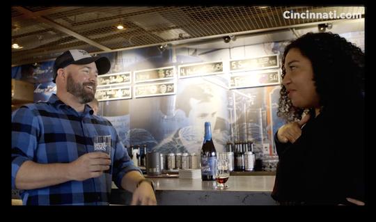 Enquirer trending news reporter Briana Rice talks Utopias beer with Head Brewer Chris Siegman.