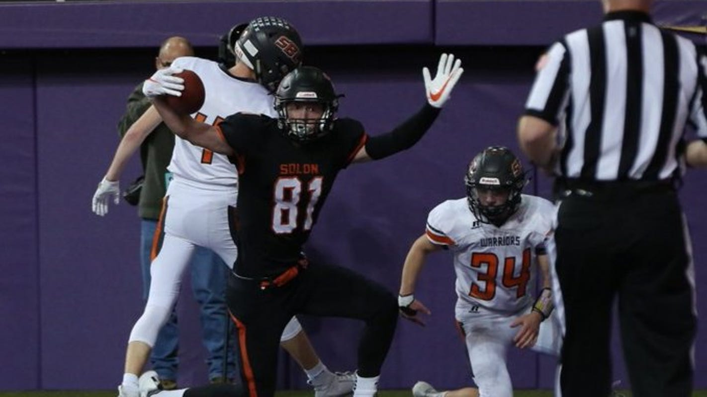 Iowa high school football: Solon edges Sergeant Bluff-Luton in Class 3A semifinal thriller