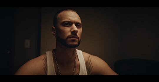 """Nathan Kane Mathers, brother of Eminem, plays a police detective in """"Devil's Night: Dawn of the Nain Rogue."""""""