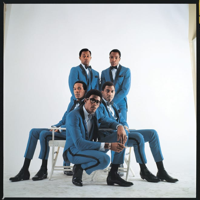 The Temptations in the mid-1960s