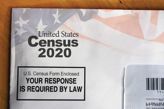 A  2020 census sample mail form. Legislation introduced in the Senate this week would change how Michigan's prisoners are counted when providing 2020 census information for voting redistricting.