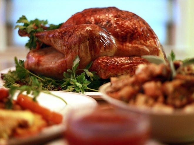 According to this year's Thanksgiving Day dinner survey, the AFBF found that 95% of the respondents will be serving turkey as their main meal.