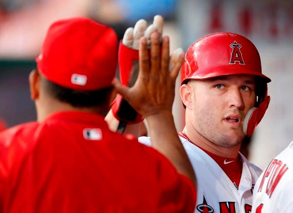 Angels outfielder Mike Trout's season of adversity ended with his third MVP award.