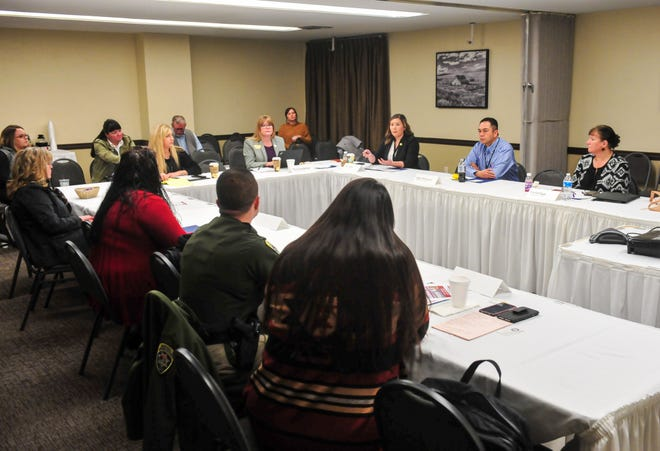 The Missing Indigenous Persons Task Force met in Great Falls earlier this year.