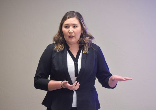 Misty LaPlant, a missing persons specialist with the Montana Department of Justice, announced at the State-Tribal Relations Committee hearing that she is resigning from her position for personal reasons.