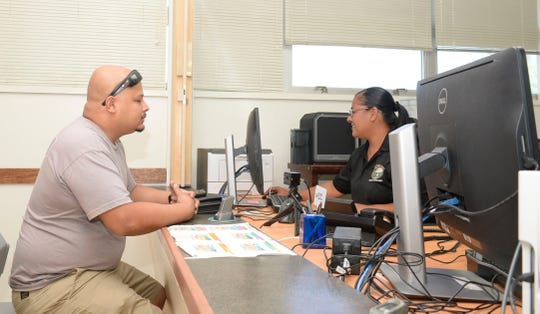 U.S. Naval Base Guam's Visitor Control Center's Contractor Services Office started veteran pre-enrollment services this week.