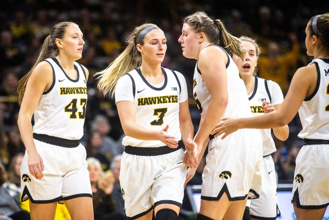 Fresh off an emotional Cy-Hawk win Wednesday, the Iowa women's basketball team came back home Saturday and routed North Carolina Central.