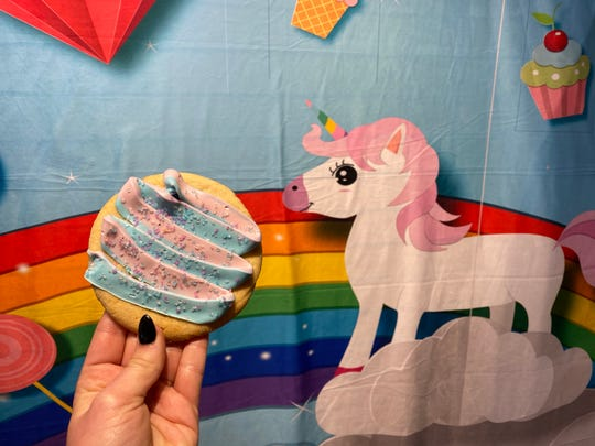 Unicorn treats are among the more than 200 unicorn themed items available at a Children's Museum pop-up shop that will be open until Jan. 5.