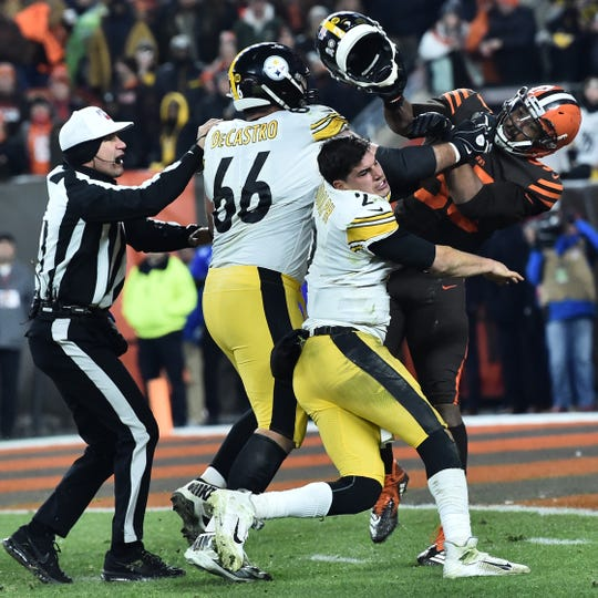 Frank Reich Will Use Browns Steelers Fight As Teaching Tool