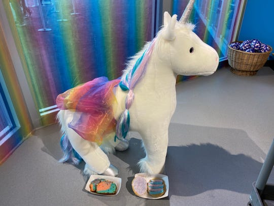 A unicorn pop-up shop is open at the Children's Museum of Indianapolis