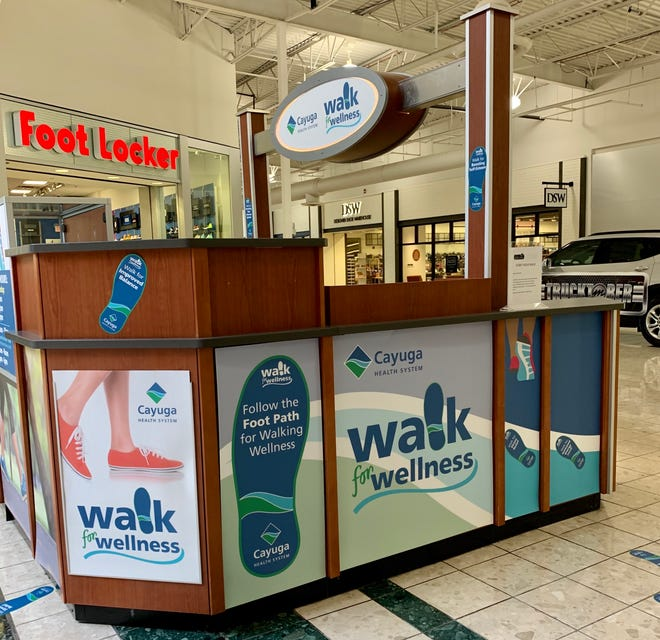 The Walk for Wellness program encourages walkers to go at their own pace.