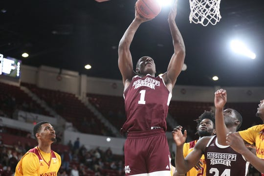Mississippi State sophomore forward Reggie Perry recorded the 11th double-double of his career in the Bulldogs win over Louisiana Monroe.