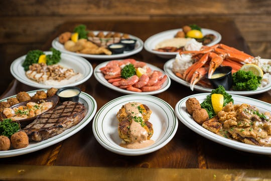 """The Original Oyster House Restaurant is billed as """"one of the most successful and longest-running seafood restaurants in South Alabama"""" and one look at the menu explains why."""