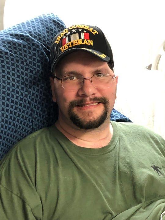 Army veteran Brandon Freeman