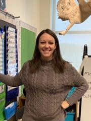 Glen Acres Elementary teacher Amber Ma.