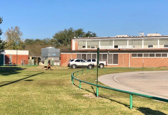 Lafayette High School was on lockdown early Friday, Nov. 15, with officers inspecting and investigating on campus, including the Lafayette Parish Sheriff's Office K-9 Unit.