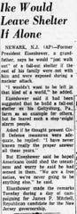 An article in the October 18, 1961 Lancaster Eagle Gazette