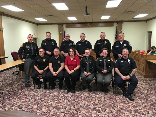 On Friday, Nov. 8, 2019, the Fairfield County Alcohol, Drug Addiction and Mental Health (ADAMH) Board graduated 12 law enforcement officers and other related personnel from Crisis Intervention Team (CIT) training.