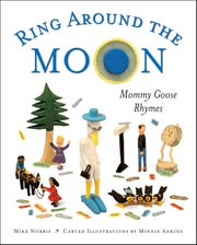 """""""Ring Around The Moon: Mommy Goose Rhymes,"""" by Mike Norris. Illustrated by Minnie Adkins"""