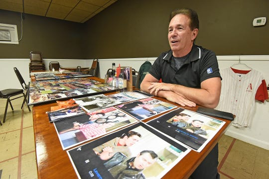 """Bill Chaffin enjoys sharing his stories about his time as an actor in """"Happy Days"""" and """"Laverne & Shirley,"""" as well as a Los Angeles County sheriff's deputy, ballroom dancer and drag car racer. He works at Mifflin Inn Restaurant."""