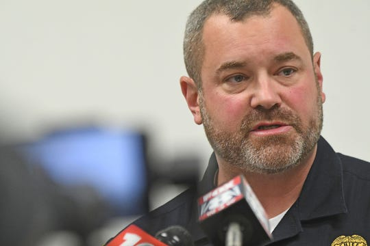 Shelby Police Chief Lance Combs addressed the incident that drew backlash on social media Wednesday after a video was posted showing a police cruiser running over a raccoon, thought to be sick, multiple times.