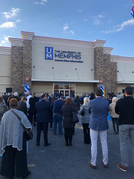 The University of Memphis Kemmons Wilson Culinary Institute celebrated its grand opening on Nov. 14.