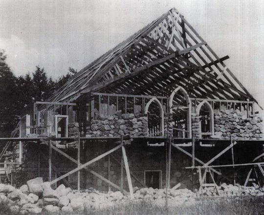 In 1937, volunteers began building Cornell Church of God in western Wisconsin. It was completed two years later.