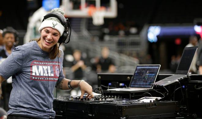 Shawna Nicols, DJ Shawna, is the Bucks official in-game DJ.