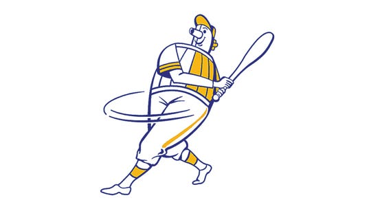 The Milwaukee Brewers introduced the Barrelman logo in 1970.