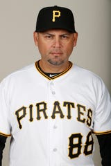Jacob Cruz was the assistant hitting coach for the Pittsburgh Pirates this past season.