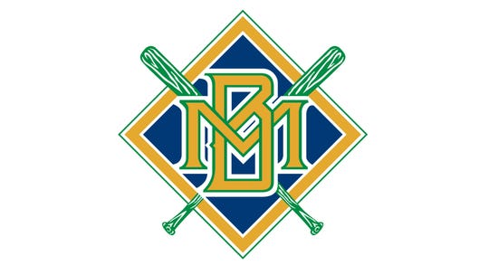 """The Brewers introduced the """"Crossed Bats"""" logo in 1994."""
