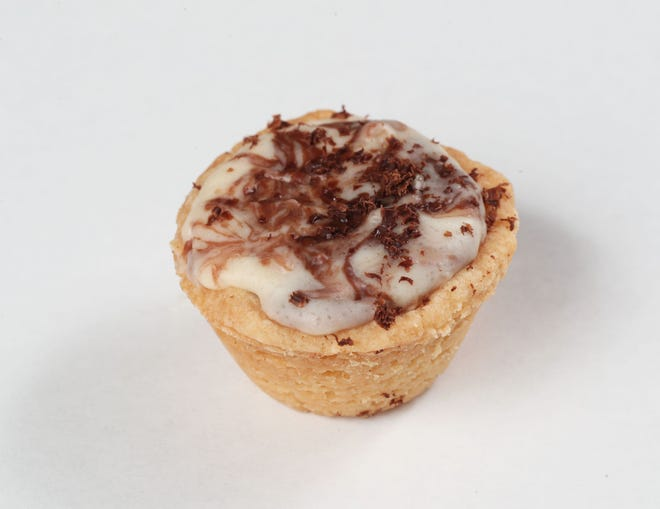 Brandy Alexander Christmas Cups are a cocktail packaged in a tiny cookie.