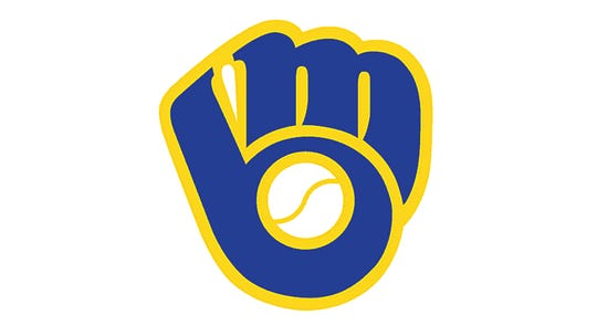"""1978: The Brewers introduce the """"Ball-In-Glove logo. The fingers form an """"M"""" and the thumb and mitt form a """"B."""" This logo has been a fan favorite since its demise in 1992."""
